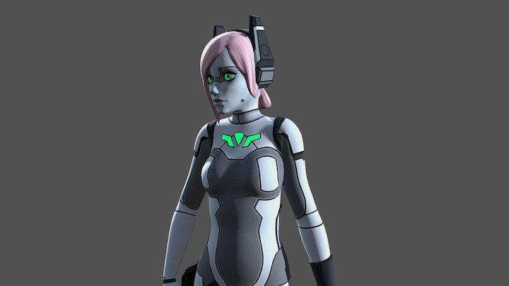 Angel (Bulletville) 3D Model