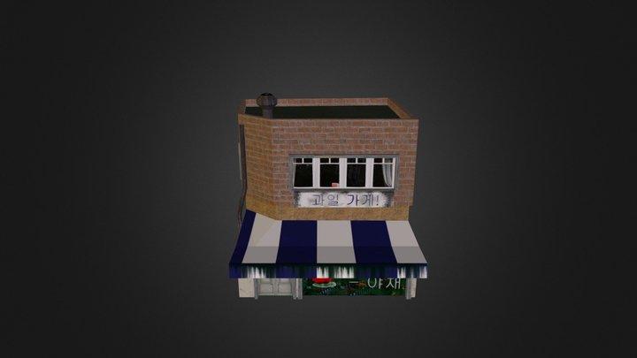 Fruit Shop 3D Model