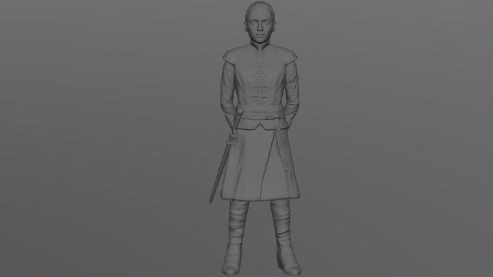 Arya Stark for 3D printing 3D Model
