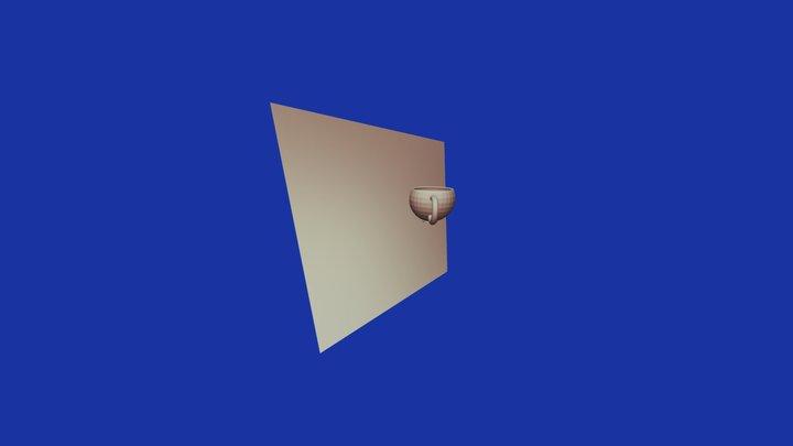 Jokusaatanakuppi 3D Model