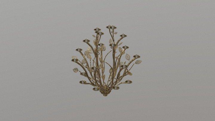 Branch Chandelier 3D Model