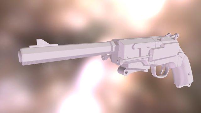 Malcolm Reynolds' Pistol 3D Model