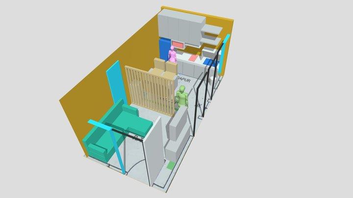 Lobby 7 3D Model