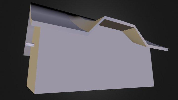 Ww2 Barn 3D Model