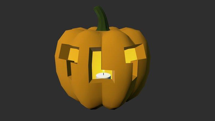 TLT Pumpkin 3D Model
