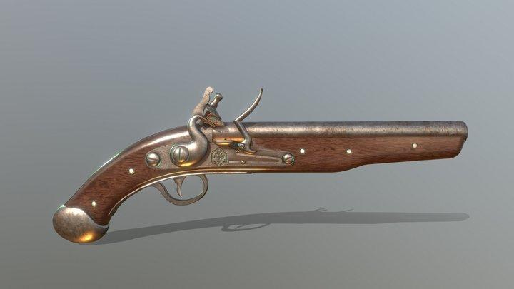 HIE Musket D180221 3D Model