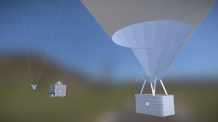 Модель воздушного шара 3D Model
