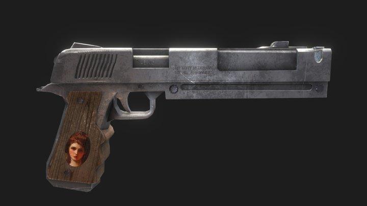 Colt M1911 - DmC 3D Model
