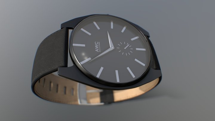 Accutime - Haven - Black 3D Model