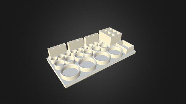 Tools Tray 3D Model