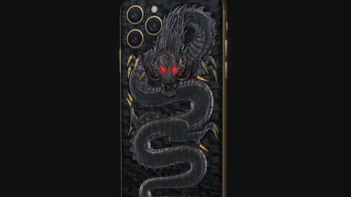 Hadoro iPhone 11 Pro | Emperor Dragon 3D Model