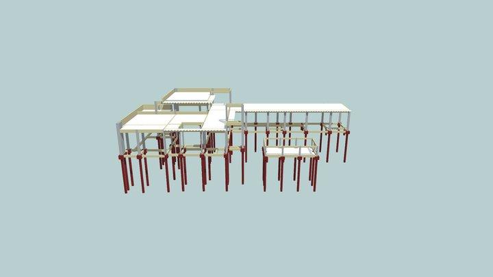 3D Estrutura André Silveira 3D Model