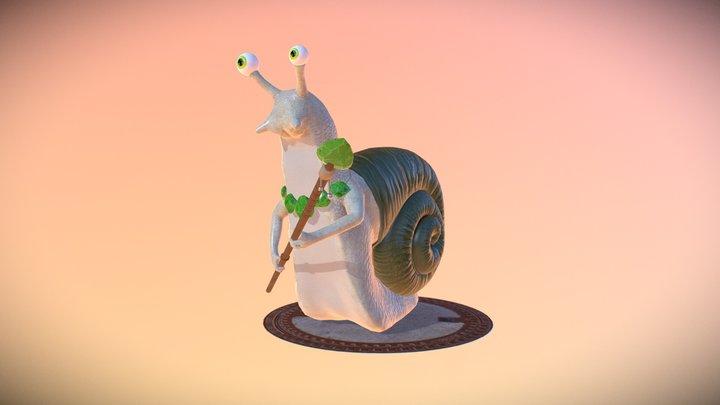 NIA Snailus 3D Model