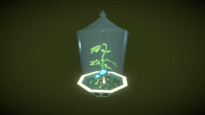 Herb Terrarium 3D Model