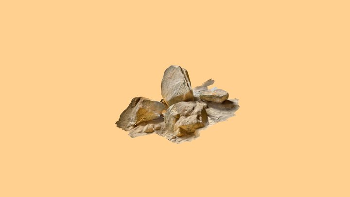 Rocks from Ash Cave 3D Model