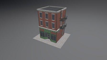 Downtown Brickhouse 3D Model