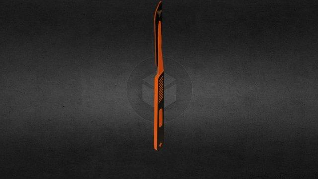 Medic Knife 3D Model