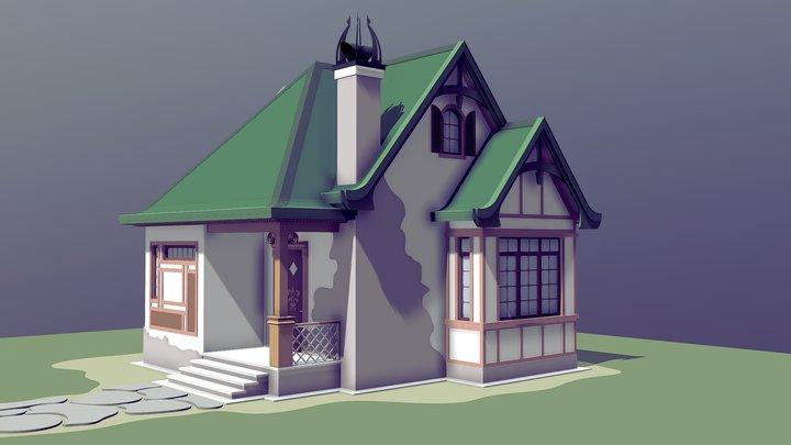 NEOarch Cottage SB 005 3D Model