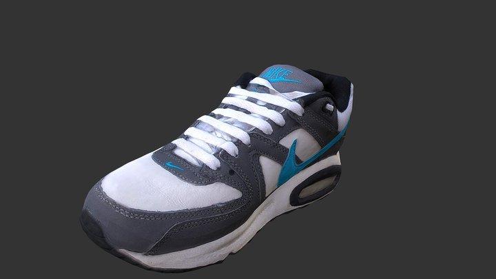 Sneaker low poly 3D model 3D Model