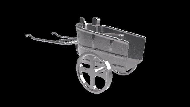 Chariot - Vikings 3D Prophecy - Episode 17 3D Model