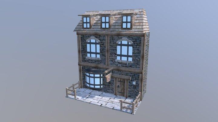 Le magasin de potions 3D Model
