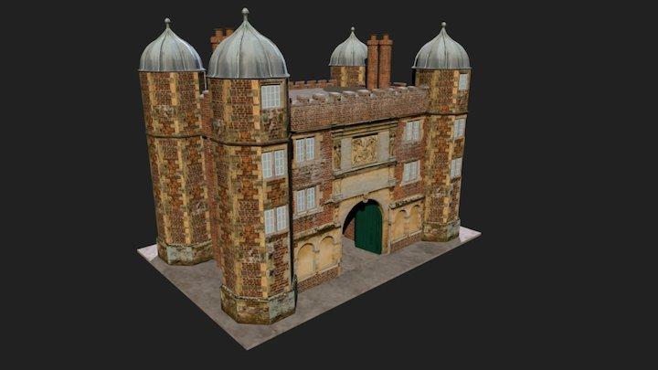 Gatehouse, Burton Agnes 3D Model