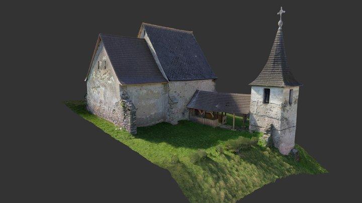 kostol Henckovce 3D Model