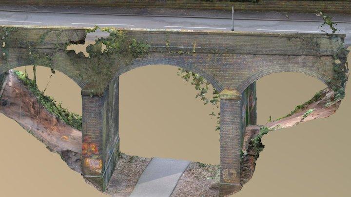 Common Lane Bridge, Kenilworth 3D Model