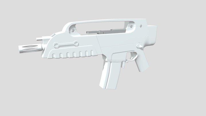 Heckler und Koch XM8 Compact 3D Model