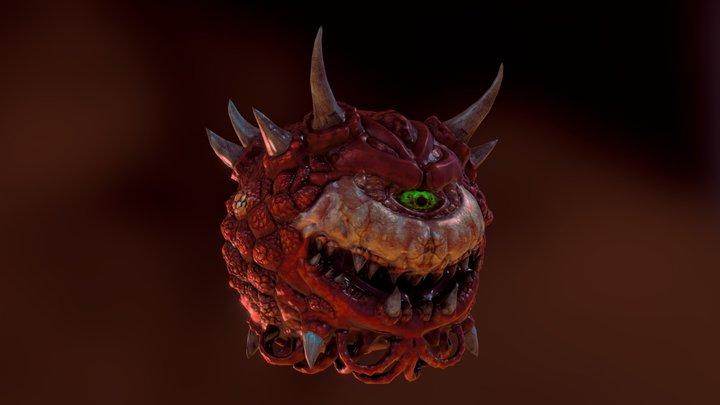 Cacodemon 3D Model