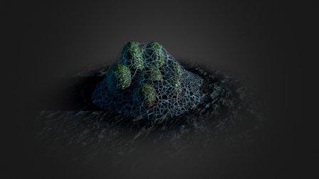 Monster eggs 3D Model