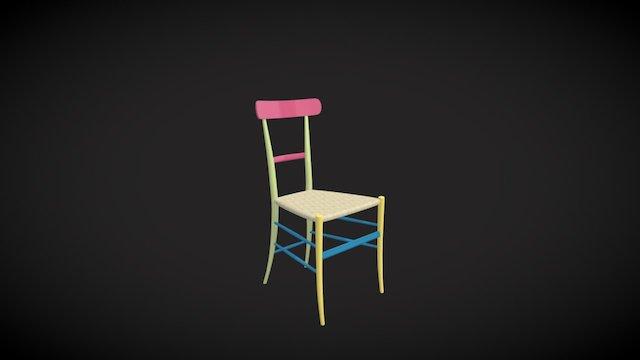 Chiavarina chair 3D Model