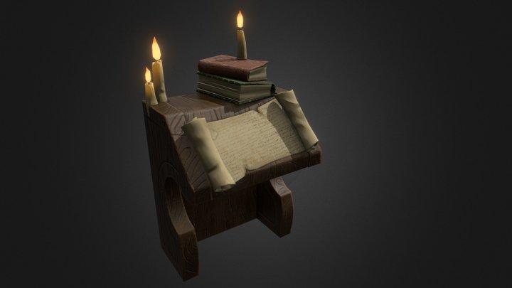 Table (DruftPunk homework) 3D Model