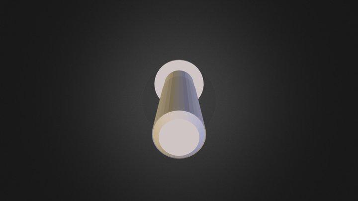 Axle Peg 3D Model