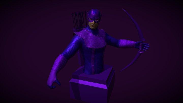 Hawkeye 3D Model