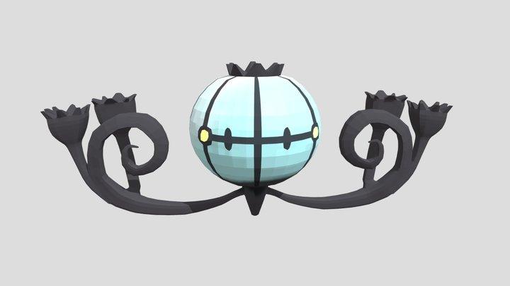 Pokemon Lichtel 3D Model