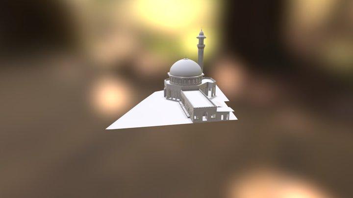 Abu Dhabi Mosque Model 3D Model
