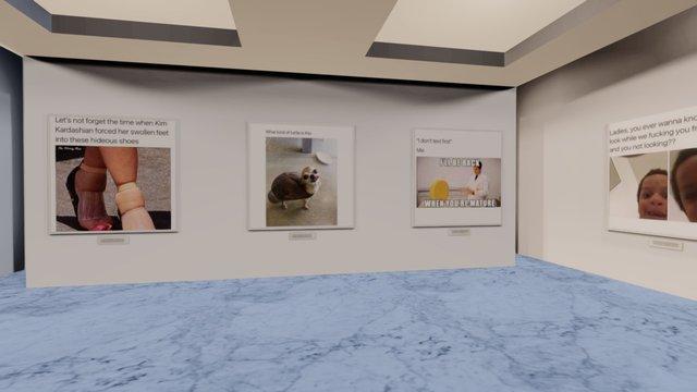 Instamuseum for @Lol 3D Model