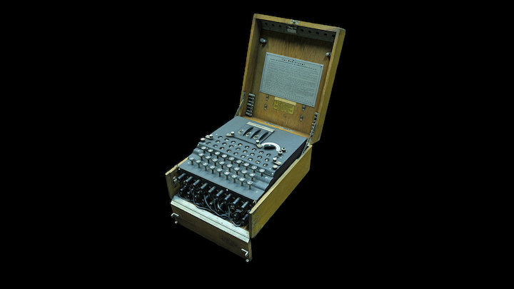 Enigma machine, 1934 3D Model