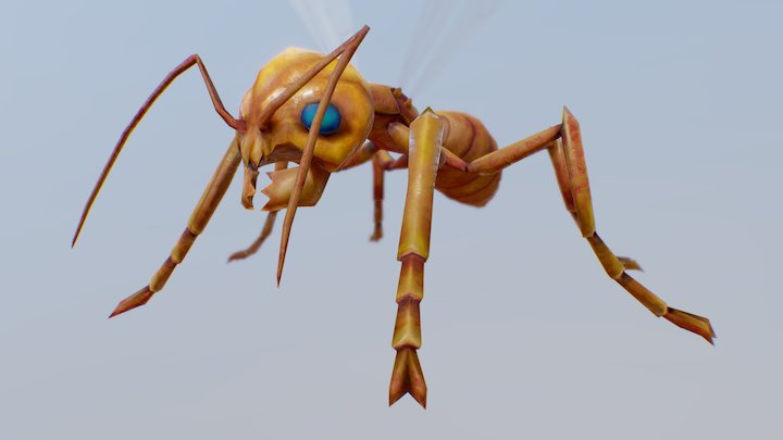 Mads Warrior 3D Model