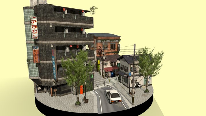Cityscene: Kyoto 3D Model