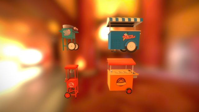 Playland collection 3D Model