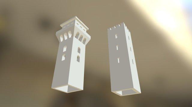 Torre Medievale 3D Model