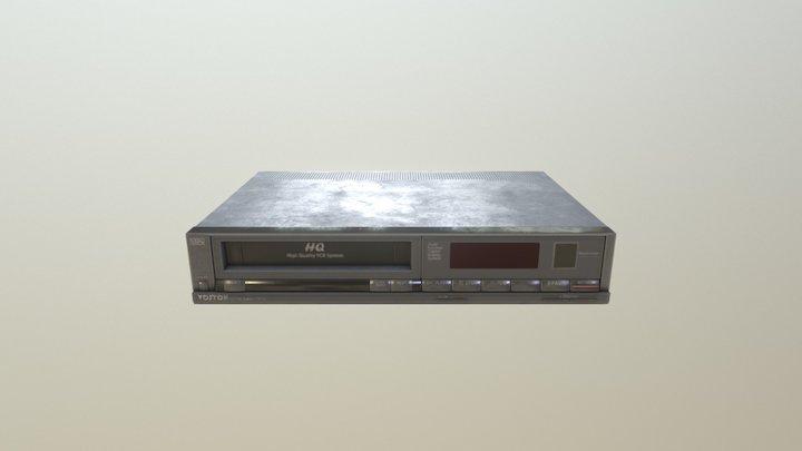 Old School VCR 3D Model