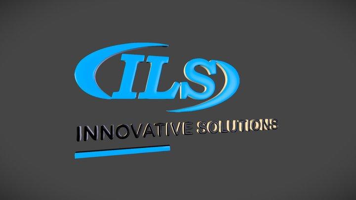 ILS Logo 3D Model