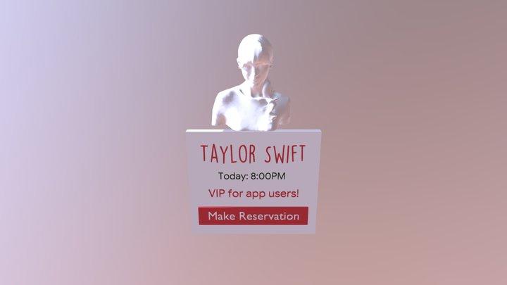 Concert-sign 3D Model
