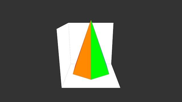 Scheda14B Pp Oo Piramide a Base Esagonale 3D Model