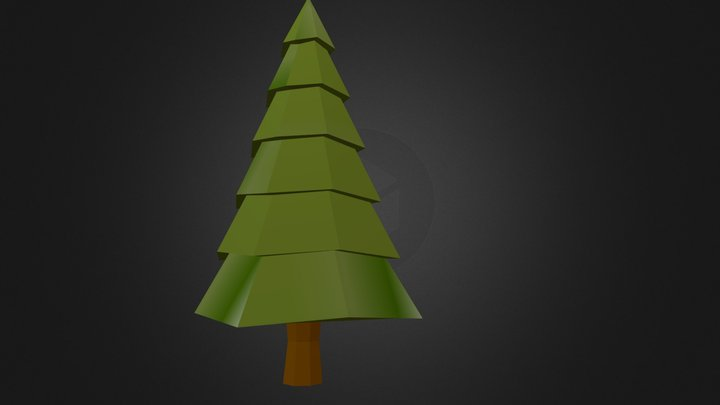 Poly Tree 05 3D Model