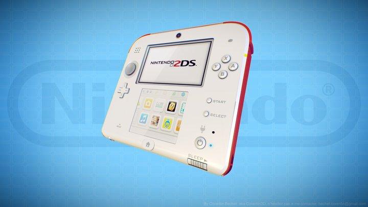 Nintendo 2DS 3D Model