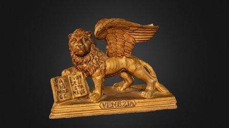 Venice Lion Model 3D Model